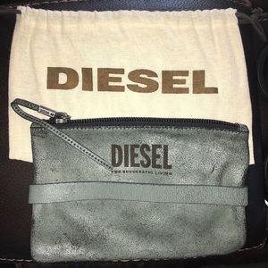Diesel vintage leather clutch